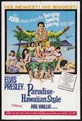 "Movie Posters:Elvis Presley, Paradise, Hawaiian Style (Paramount, 1966). One Sheet (27"" X 41"").Elvis Presley. Starring Elvis Presley, Suzanna Leigh, Jam..."