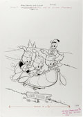 Original Comic Art:Covers, Huey, Dewey, and Louie Junior Woodchucks #50 Cover Original Art(Gold Key, 1978)....