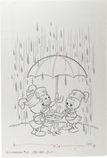 Original Comic Art:Covers, Huey, Dewey, and Louie Junior Woodchucks #62 Cover Original Art(Whitman, 1978)....