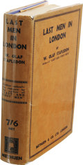 Books:First Editions, W. Olaf Stapledon: Last Men in London. (London: Methuen& Company, 1932), first edition (8-page publisher's catalogueda...
