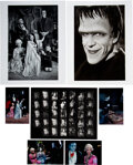 Movie/TV Memorabilia:Photos, The Munsters (132+) Contact Sheets, Digital Master Prints and 2-Oversize Prints by Bob Willoughby (1960...