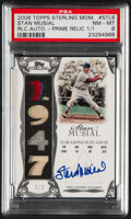 Baseball Cards:Singles (1970-Now), 2006 Topps Sterling Moments Stan Musial Prime Relic Autograph #SM-STL6 PSA NM-MT 8 - Serial Numbered 1/1....