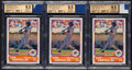 Baseball Cards:Lots, 1989 Score Young Superstars II Ken Griffey Jr. (with a piece of 1989 Game-Used Mariners Jersey Patch) BGS Gem Mint 9.5 Graded...