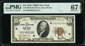 Small Size:Federal Reserve Bank Notes, Fr. 1860-B $10 1929 Federal Reserve Bank Note. PMG Superb Gem Unc 67 EPQ.. ...