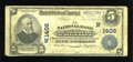 National Bank Notes:Vermont, Wells River, VT - $5 1902 Plain Back Fr. 598 The NB of Newbury Ch. # (N)1406. ...