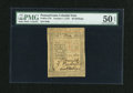 Colonial Notes:Pennsylvania, Pennsylvania October 1, 1773 50s PMG About Uncirculated 50 EPQ....