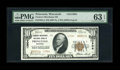 National Bank Notes:Wisconsin, Princeton, WI - $10 1929 Ty. 2 Farmers-Merchants NB Ch. # 13904. ...