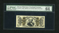 Fractional Currency:Third Issue, Fr. 1324 50c Third Issue Spinner PMG Choice Uncirculated 64....