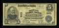 National Bank Notes:Pennsylvania, Reading, PA - $5 1902 Plain Back Fr. 598 The National Union Bank Ch. # 693. ...