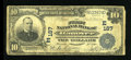National Bank Notes:Pennsylvania, Hanover, PA - $10 1902 Plain Back Fr. 624 The First NB Ch. #(E)187. ...