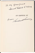 Autographs:U.S. Presidents, Herbert Hoover Inscribed and Signed Copy of On Growing Up. ...