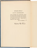 Autographs:Authors, Willa Cather Signed Copy of Lucy Gayheart. ...