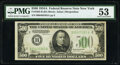 Small Size:Federal Reserve Notes, Fr. 2202-B $500 1934A Federal Reserve Note. PMG About Uncirculated 53.. ...