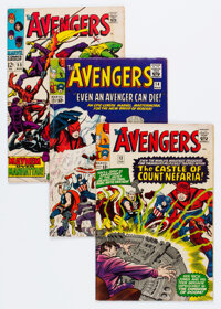 The Avengers #13, 14, and 55 Group (Marvel, 1965-68).... (Total: 3 )