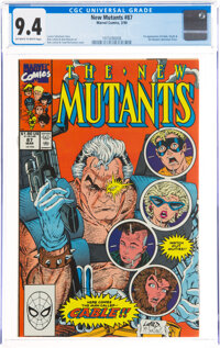 The New Mutants #87 (Marvel, 1990) CGC NM 9.4 Off-white to white pages