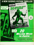 Movie Posters:Science Fiction, 20 Million Miles to Earth (Ziff Davis, 1957). Very Fine.