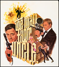 """The Man from U.N.C.L.E. & Other Lot (MGM, 1965). Rolled, Very Fine-. Special Television Posters (4) (21.25"""" X 2..."""