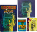 """Movie/TV Memorabilia:Memorabilia, Collection of """"Frankenstein's Monster"""" and other related collectibles (1960s-1990s). ..."""