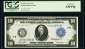 Large Size:Federal Reserve Notes, Fr. 911c $10 1914 Federal Reserve Note PCGS About New 53PPQ.. ...