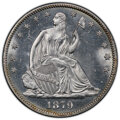 1879 50C MS62 PCGS. PCGS Population: (39/266 and 0/19+). NGC Census: (20/168 and 0/6+). CDN: $1,000 Whsle. Bid for NGC/P...