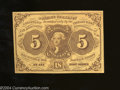 Fractional Currency:First Issue, Fr. 1230 5c First Issue Crisp Uncirculated++.But for a ...