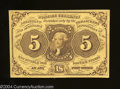 Fractional Currency:First Issue, Fr. 1230 5c First Issue Choice About Uncirculated.This ...