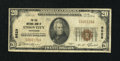 National Bank Notes:Tennessee, Union City, TN - $20 1929 Ty. 1 The Old NB Ch. # 9629. ...
