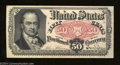 Fractional Currency:Fifth Issue, Fr. 1381 50c Fifth Issue Choice About New.A minor ...
