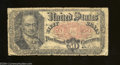 Fractional Currency:Fifth Issue, Fr. 1381 50c Fifth Issue Good.This is a heavily circulated ...