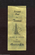Miscellaneous:Other, Scratch Pad For Texans.