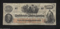 Confederate Notes:1862 Issues, T41 $100 1862. Even circulation is found on this popular ...