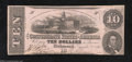Confederate Notes:1862 Issues, T52 $10 1862. This 4 Series $20 has withstood the ...