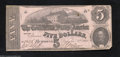 Confederate Notes:1862 Issues, T53 $5 1862. The pink paper and blue back types are very ...