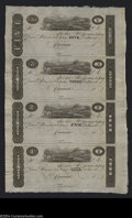 Obsoletes By State:Ohio, Cincinnati, OH- Unknown Issuer $5-$3-$2-$1 18__ Uncut ...