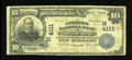 National Bank Notes:Missouri, Chillicothe, MO - $10 1902 Date Back Fr. 618 The Citizens NB Ch. #(M)4111. ...