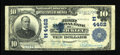 National Bank Notes:Pennsylvania, Sewickley, PA - $10 1902 Plain Back Fr. 627 The First NB Ch. # (E)4462. ...