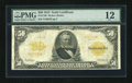 Large Size:Gold Certificates, Fr. 1198 $50 1913 Gold Certificate PMG Fine 12....