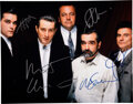 Movie/TV Memorabilia:Autographs and Signed Items, Goodfellas Cast Signed Oversized Color Photograph (ca. 1990). ...