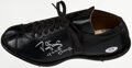 Autographs:Others, Darryl Strawberry Signed Cleat. ...
