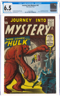 Journey Into Mystery #62 (Marvel, 1960) CGC FN+ 6.5 Off-white to white pages