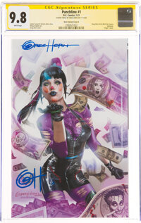 Punchline #1 Horn Variant Cover C - Signature Series: Greg Horn(DC, 2021) CGC NM/MT 9.8 White pages