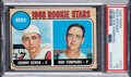 Baseball Cards:Singles (1960-1969), 1968 Topps Johnny Bench - Reds Rookies #247 PSA EX 5....