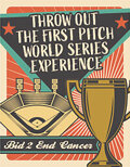 Baseball Collectibles:Others, 2021 World Series Ceremonial First Pitch. ...
