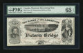 Canadian Currency: , Canada, Advertising Note, Victoria Bridge. ...