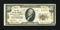 National Bank Notes:Pennsylvania, Mount Union, PA - $10 1929 Ty. 2 The First NB Ch. # 6411. ...