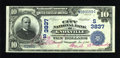 National Bank Notes:Tennessee, Knoxville, TN - $10 1902 Date Back Fr. 618 The City NB Ch. #(S)3837. ...