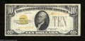 Small Size:Gold Certificates, Fr. 2400* $10 1928 Gold Certificate. Fine+++.