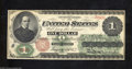 Fr. 16 $1 1862 Legal Tender Note Gem Crisp Uncirculated. Perfect centering and bold, bright colors give this early Feder...