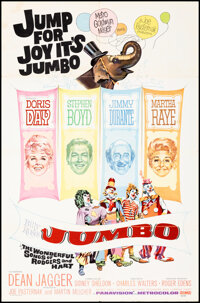 """Billy Rose's Jumbo & Other Lot (MGM, 1962). Folded, Fine/Very Fine. One Sheets (2) (27"""" X 41""""). Musical..."""