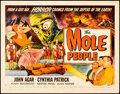"""Movie Posters:Science Fiction, The Mole People (Universal International, 1956). Rolled, Fine/Very Fine. Half Sheet (22"""" X 28"""") Style A, Reynold Brow..."""
